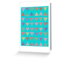 Delightful Little Pyramids Greeting Card