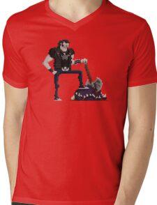 Brutal Victory Mens V-Neck T-Shirt