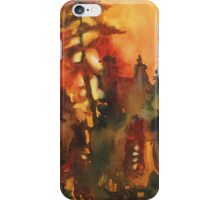 Forest Fire #1 iPhone Case/Skin