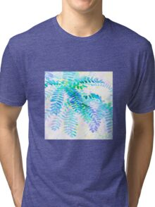 Leaves cascade Tri-blend T-Shirt