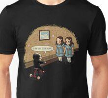 I Saw Something Creepy Unisex T-Shirt