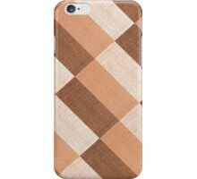 Checkered tablecloth  iPhone Case/Skin