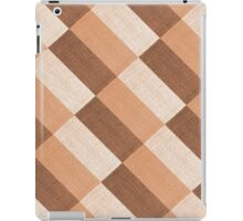 Checkered tablecloth  iPad Case/Skin