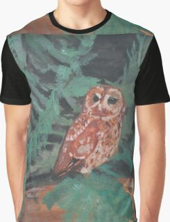 Lone Owl Graphic T-Shirt
