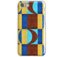 Beautiful Blue Red Pink Knit  iPhone Case/Skin