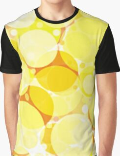 Yellow Bubbles Blup Blup Blup . . .  Graphic T-Shirt