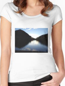 RANU KUMBOLO LAKE Women's Fitted Scoop T-Shirt