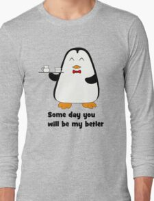 Betler penguin Long Sleeve T-Shirt