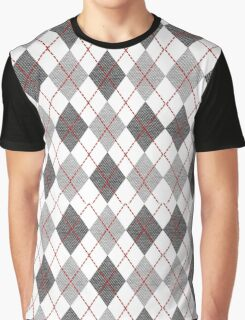 Vector with colorful hounds tooth Graphic T-Shirt