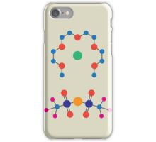 Lithium Tetraglyme TFSI Chemical Structure iPhone Case/Skin