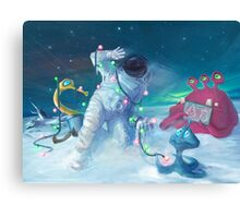 Alien Christmas traditions Canvas Print