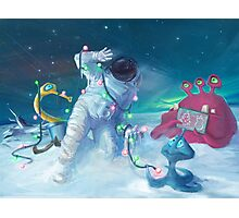 Alien Christmas traditions Photographic Print