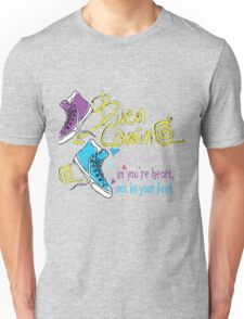 The camino is in you're heart Unisex T-Shirt
