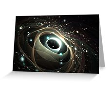 Cradle of a universe Greeting Card