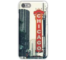 Chicago Theatre Sign iPhone Case/Skin