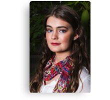 Teenage Beauty Canvas Print