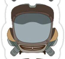 FLCL - Canti Heads Sticker