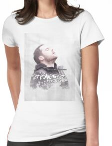 Aaron - The Strongest Person Womens Fitted T-Shirt