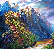 Routeburn Valley by HelenBlair