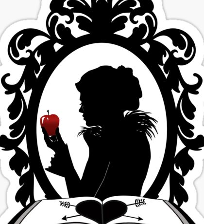 The Evil Queen Sticker