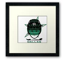 Dallas Hockey T-Shirt Framed Print