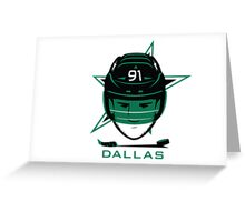 Dallas Hockey T-Shirt Greeting Card