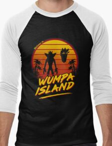 Welcome to Wumpa Island Men's Baseball ¾ T-Shirt
