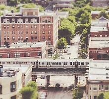Uptown Chicago L by Kadwell