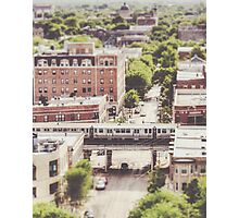 Uptown Chicago L Photographic Print