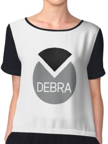 american first name female: Debra Chiffon Top