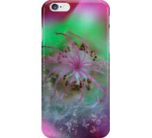 Reverse Macro Flower 1 iPhone Case/Skin