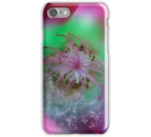 Reverse Macro Flower 1 iPhone Case/Skin
