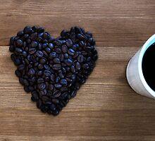 I Love Coffee by Nicklas Gustafsson