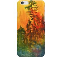 Forest Fire #5 iPhone Case/Skin