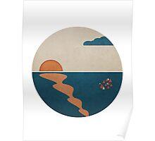 Simplistic Ocean Horizon  Poster