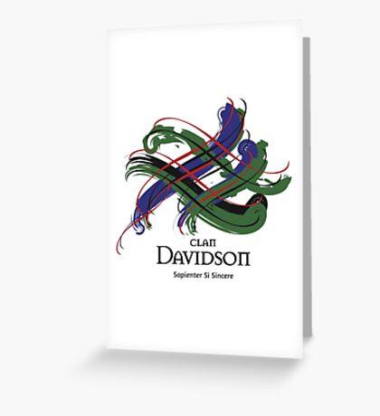 Clan Davidson  Greeting Card