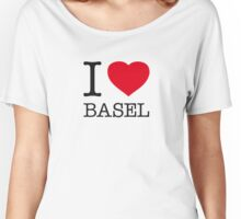 I ♥ BASEL Women's Relaxed Fit T-Shirt