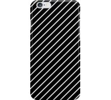 Classic Design with Black and White Stripes iPhone Case/Skin