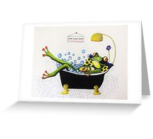 Bubble Time   (sold) Greeting Card