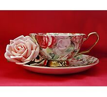 An English Cup of Tea Photographic Print