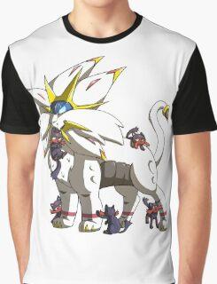 Solgaleo & Littens Graphic T-Shirt