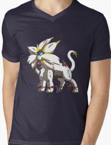 Solgaleo & Littens Mens V-Neck T-Shirt