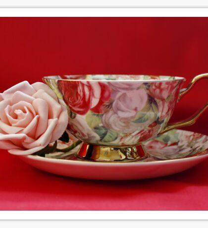 An English Cup of Tea Sticker