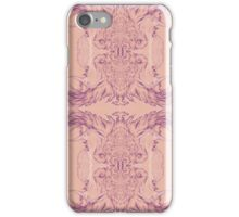 Feather of Her Eye Pattern  iPhone Case/Skin
