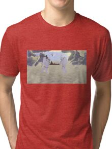 Intergalactic Chess Tri-blend T-Shirt