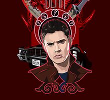 Dean Winchester - The Righteous Man by champagneblue