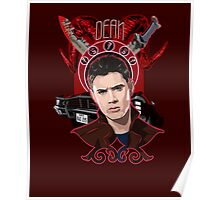 Dean Winchester - The Righteous Man Poster