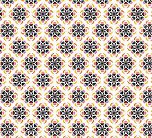 Flower Pattern by Clare Carroll