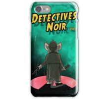 Detectives Noir 2 iPhone Case/Skin