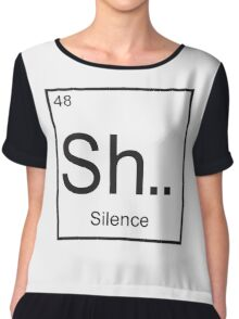 The element of Silence Chiffon Top